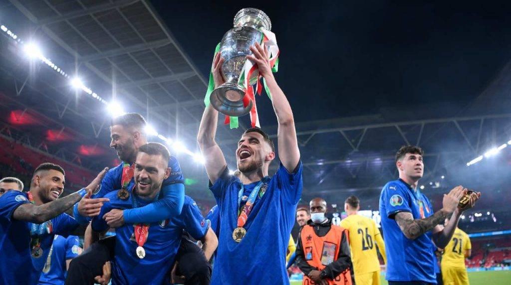 L'Italia festeggia