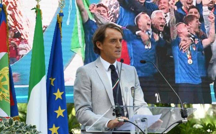 Mancini al Quirinale