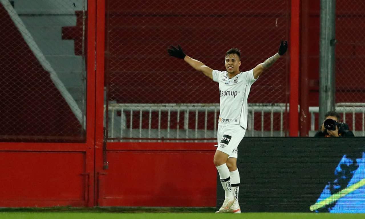 Kaio Jorge in Independiente-Santos
