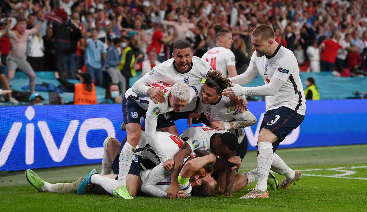 Esultanza Inghilterra