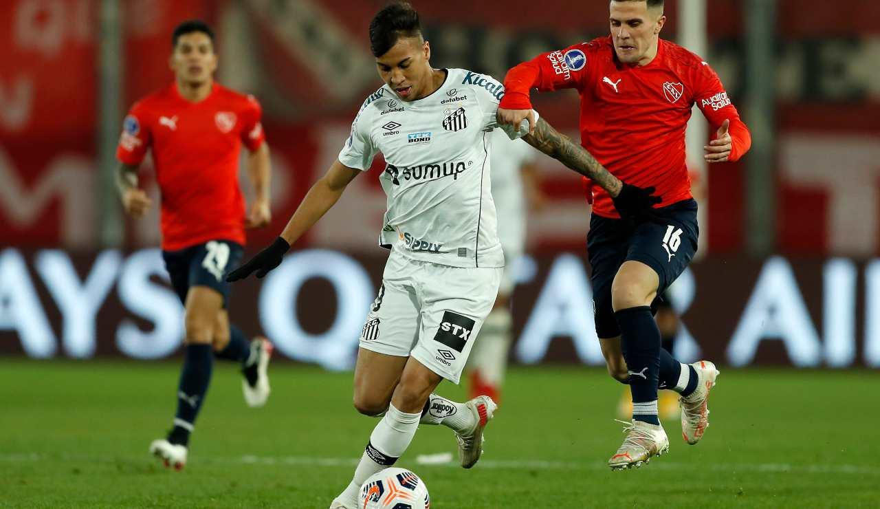 Kaio Jorge in azione