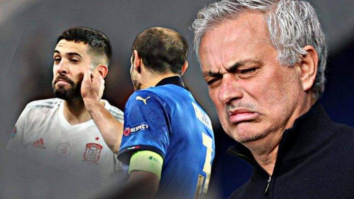 Mourinho sul caso Chiellini Jordi Alba