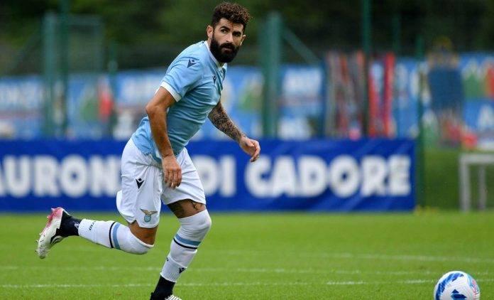 Hysaj in azione con la maglia della Lazio