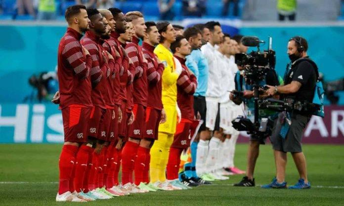 Svizzera e Spagna schierate