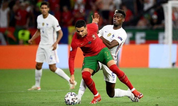 Ronaldo e Pogba con le Nazionali