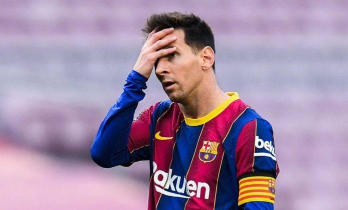 Leo Messi rammaricato