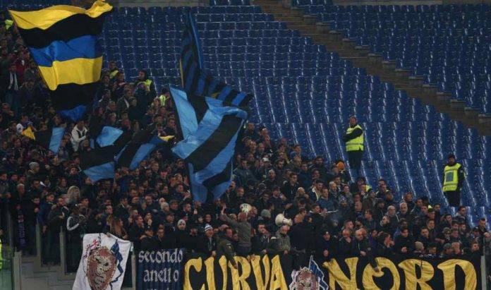 I tifosi dell'Inter all'Olimpico