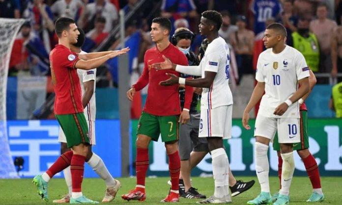 Il post partita di Francia-Portogallo agli Europei