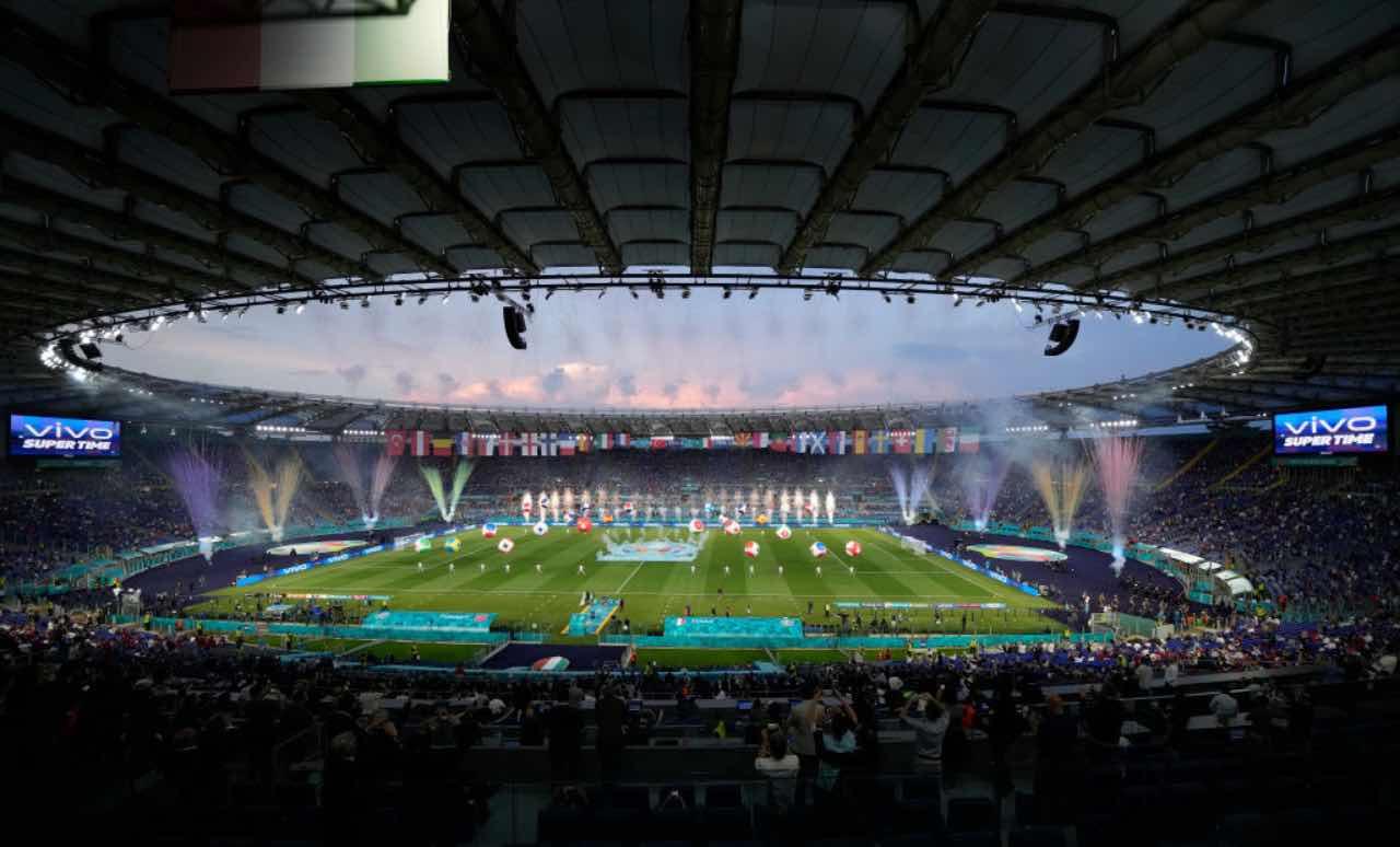 La cerimonia di apertura di Euro 2020 all'Olimpico