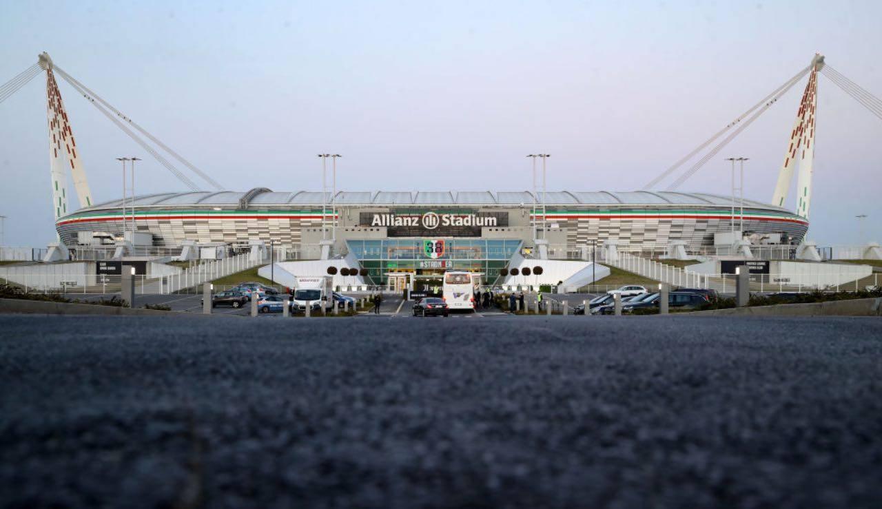 Vista esterna dell'Allianz Stadium