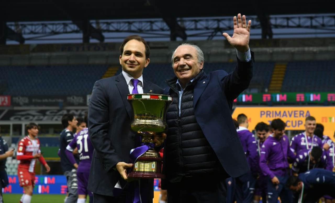Rocco e Joseph Commisso con la Coppa Italia Primavera