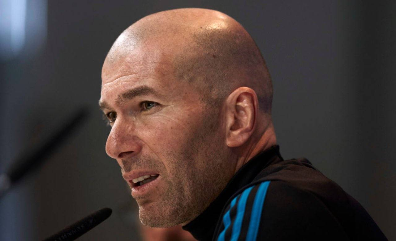 Zinedine Zidane primo piano