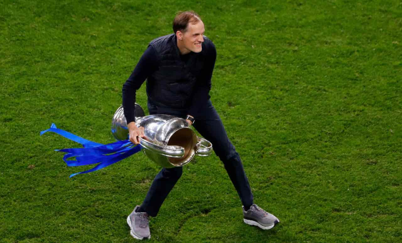 Tuchel con la Champions League