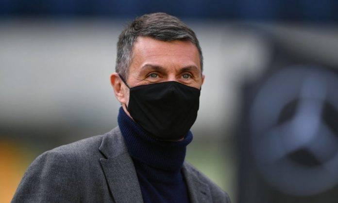 Milan, Maldini con la mascherina