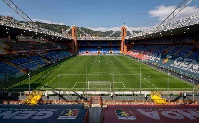 Genoa-Fiorentina, stadio Luigi Ferraris