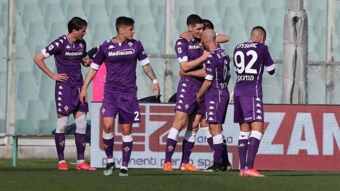 La Fiorentina festeggia