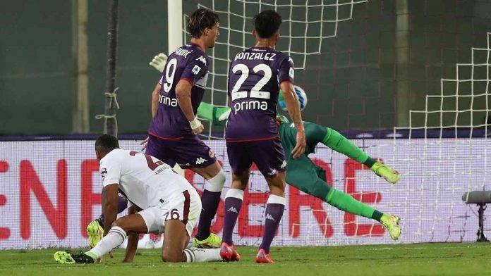 Fiorentina-Torino in campo