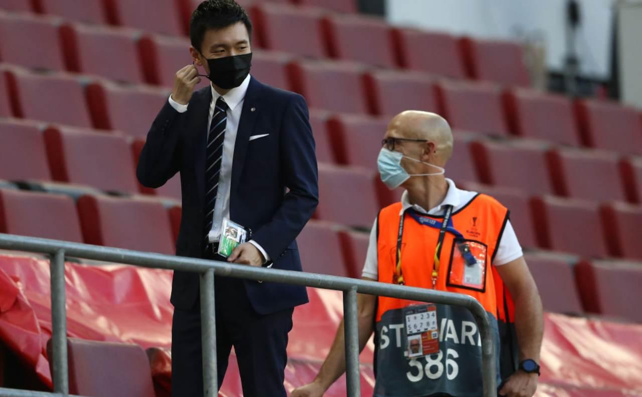 Zhang con mascherina