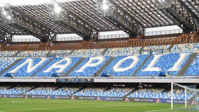 Napoli-Juventus, lo Stadio Maradona di Napoli