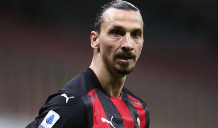 Ibrahimovic in campo col Milan