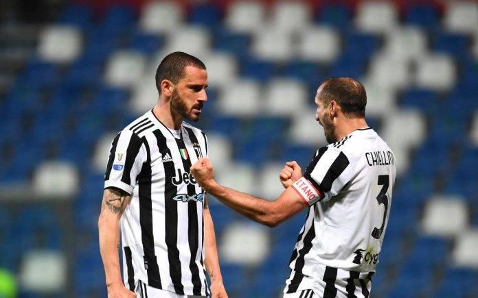 Bonucci Chiellini Juventus