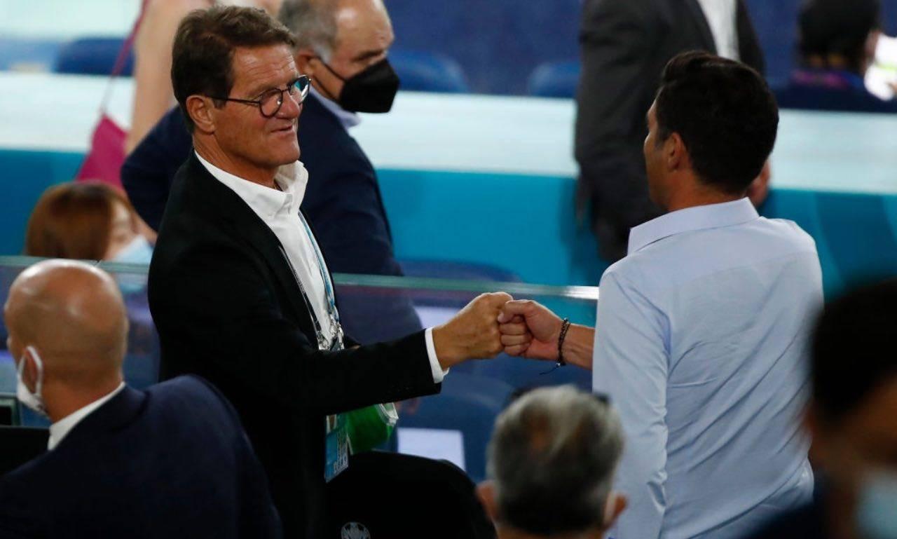 Capello con Fonseca a EURO 2020