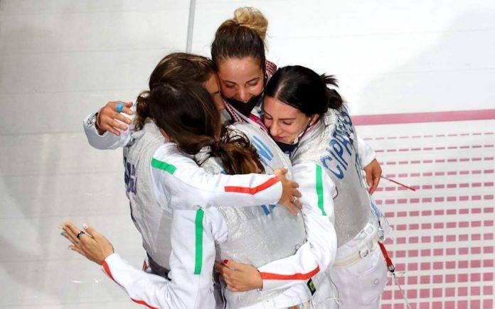 Olimpiadi fioretto femminile