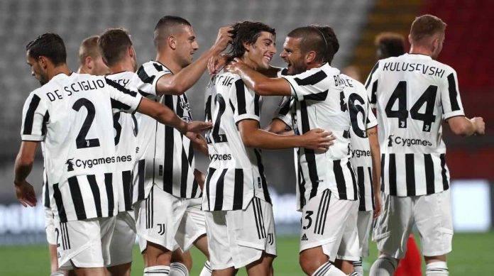 La Juventus festeggia