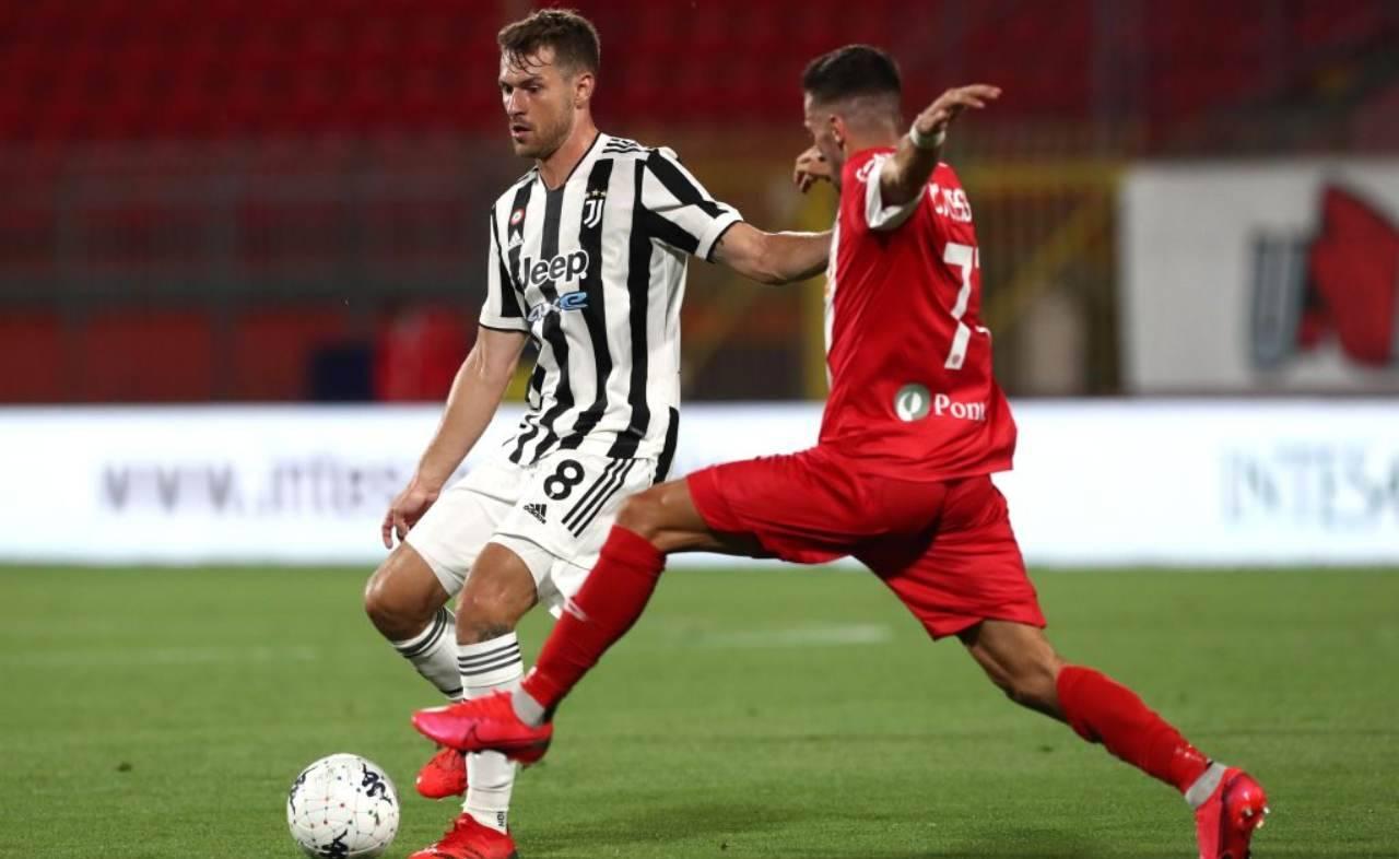 Ramsey contro il Monza