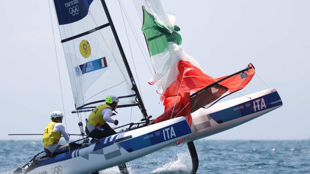 Ruggero Tita e Caterina Banti in azione