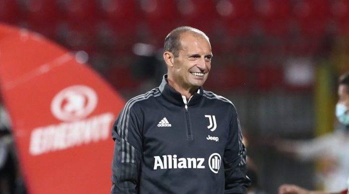 Juventus, Allegri sorride
