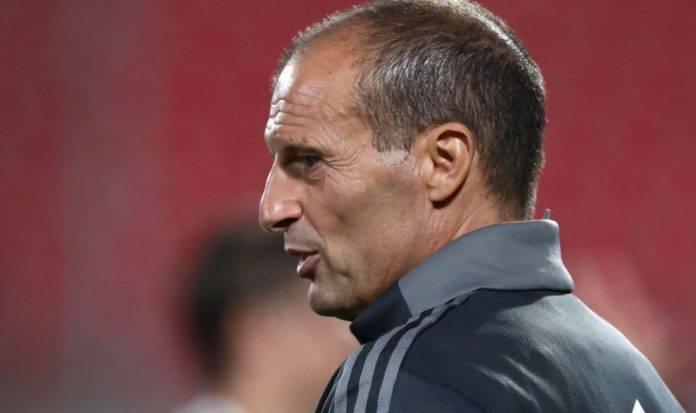Allegri dirige la Juventus