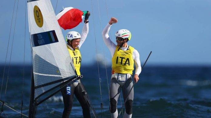L'Italia vince l'oro nella vela