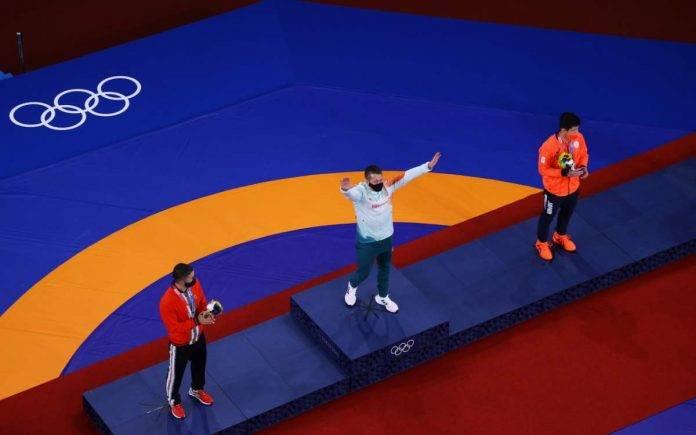 podio Olimpiadi