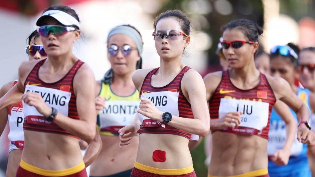 Atlete in gara