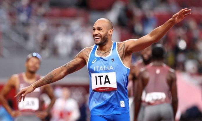 Jacobs festeggia la medaglia d'oro