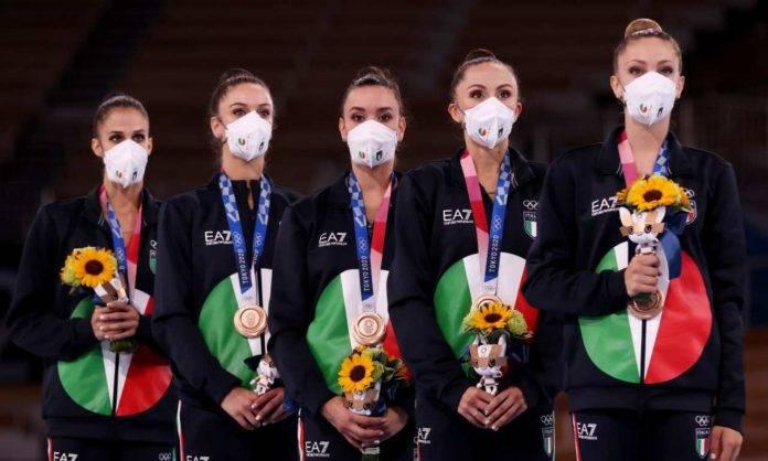 L'Italia della ginnastica ritimica sul podio