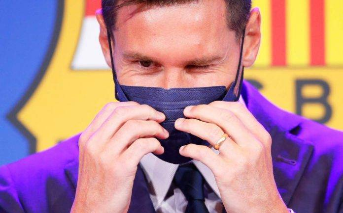 Messi fa l'occhiolino