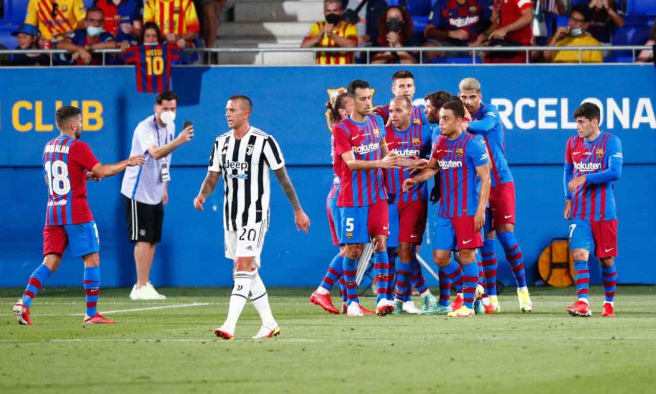Barcellona-Juventus, Trofeo Gamper