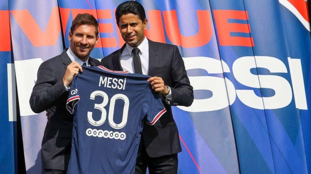 Messi si presenta al Psg
