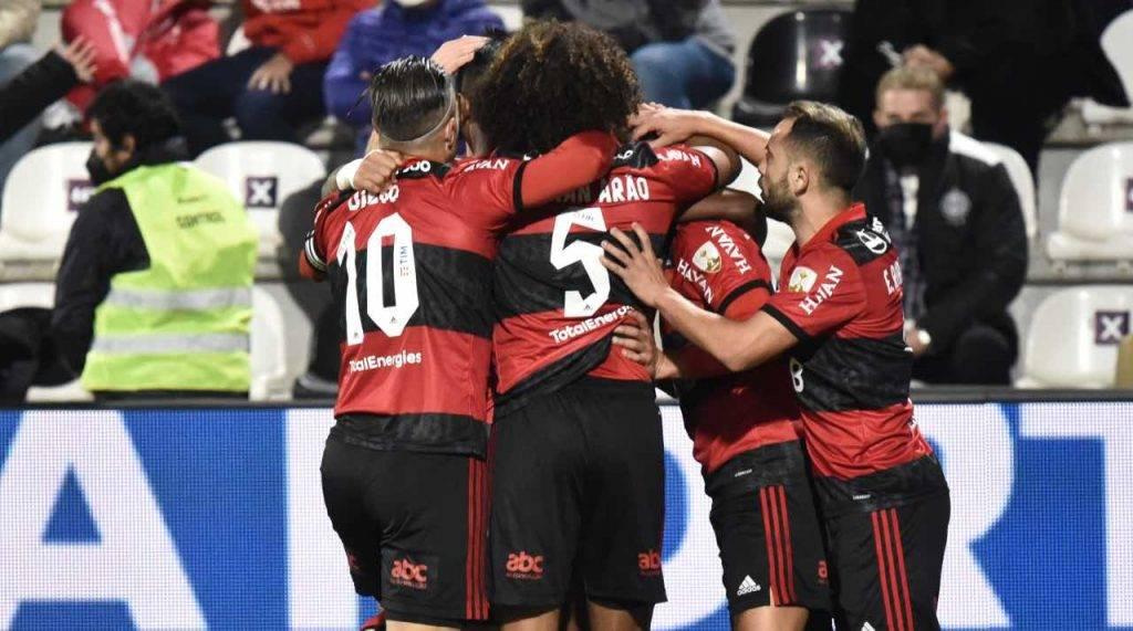 Flamengo festeggia