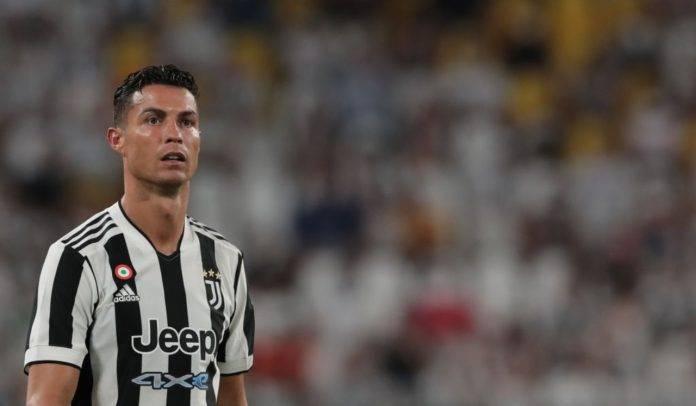 Ronaldo in campo con la Juventus