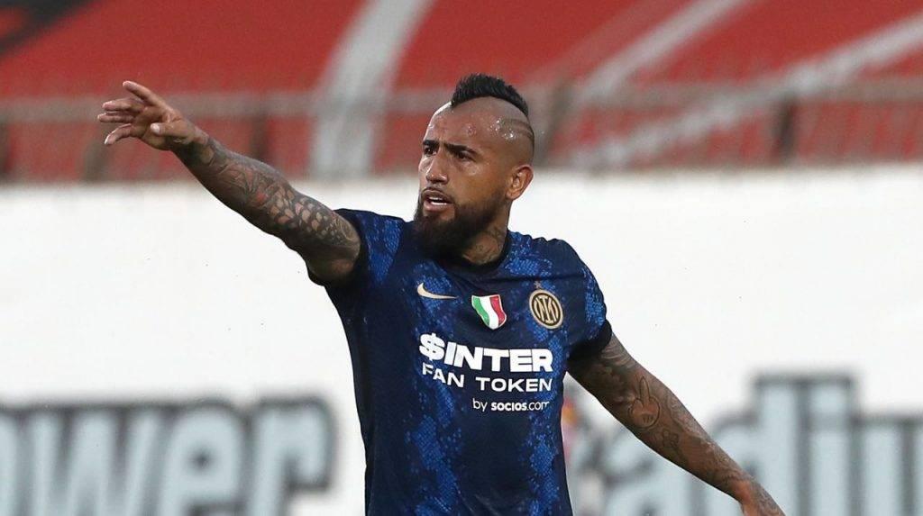Vidal in campo