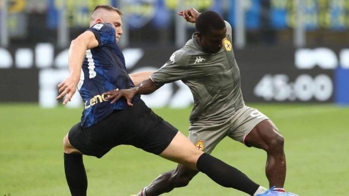 Inter e Genoa in campo
