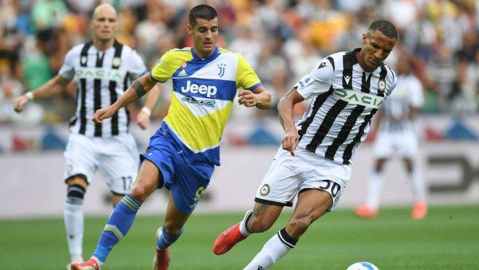 Juventus-Udinese in campo