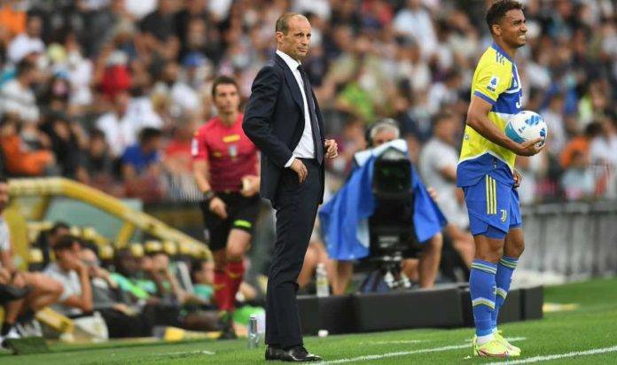 Max Allegri dirige la Juventus