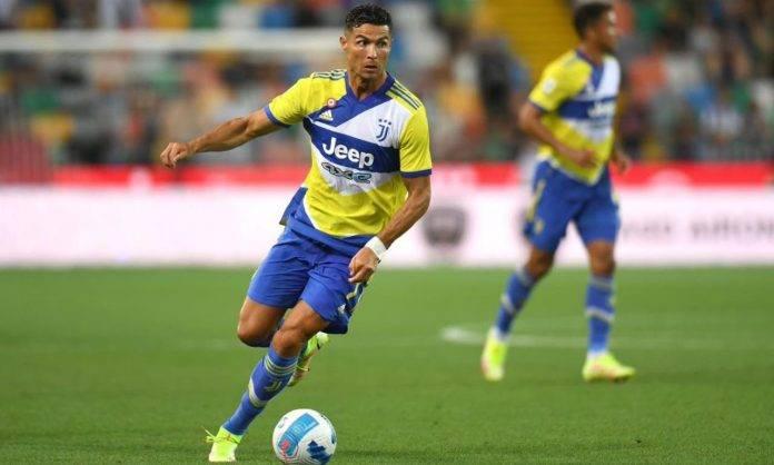 Ronaldo porta palla