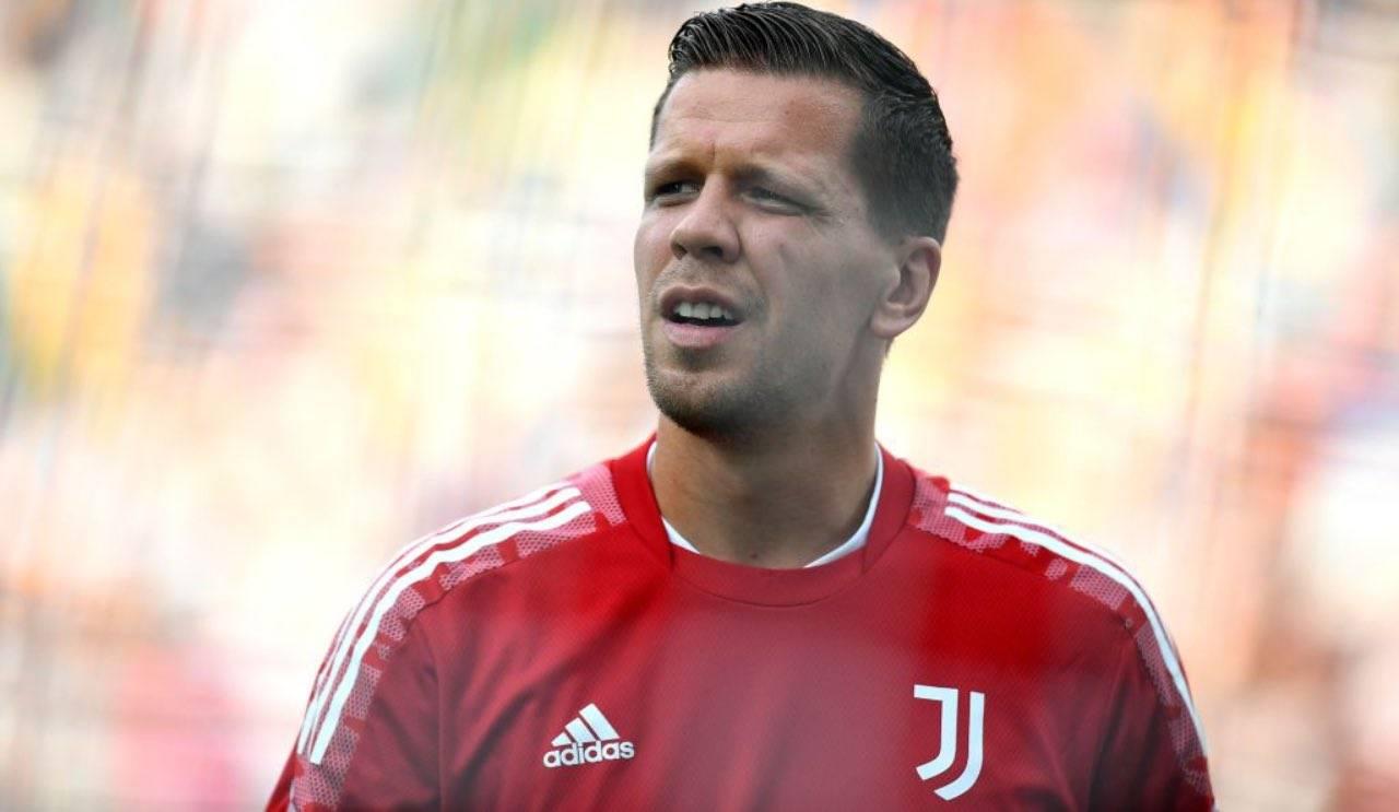 Szczesny in campo in Udinese-Juventus