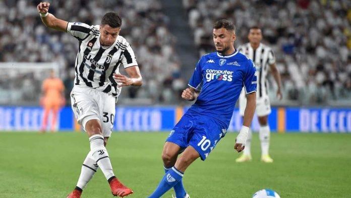 Juventus-Empoli in campo