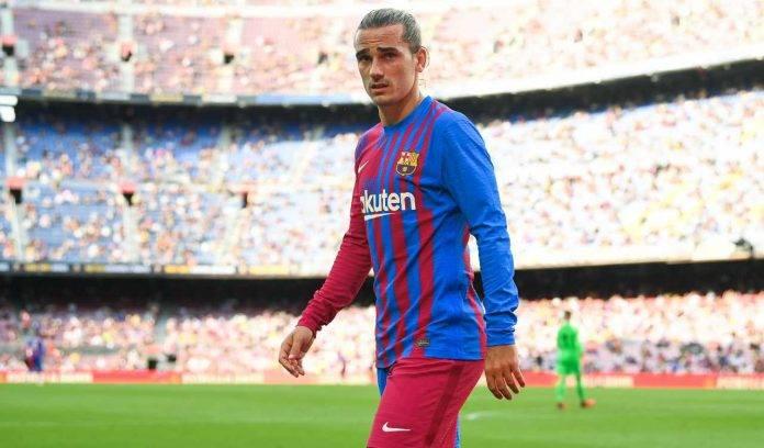 Griezmann al Camp Nou